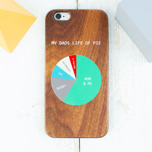 Personalised Life Of Pie iPhone Case