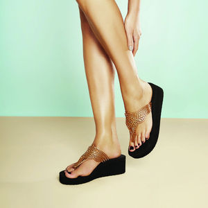 Batucada Sandals 'Indian Wedge Sandals' - shoes