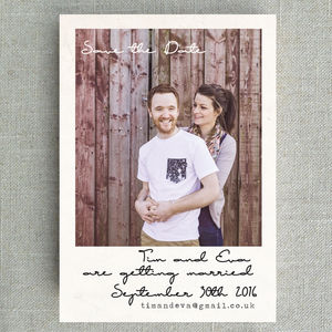 Polaroid With Handwritten Font