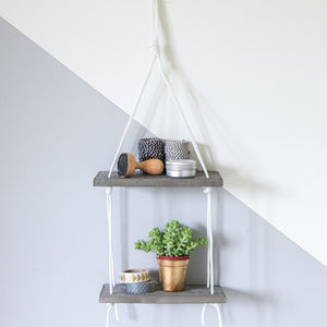 Double Concrete Shelf - storage & organisers