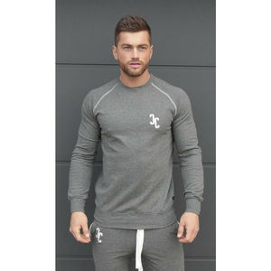 Contrast Fitted Sweatshirt
