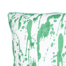Splatter, Lake Green Cushion