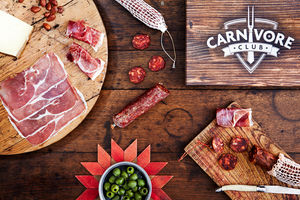 Artisan British Charcuterie Box - savouries