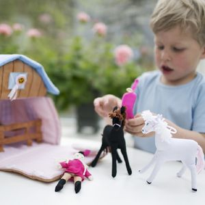 Soft Play Horse And Pony Stable - pretend play & dressing up