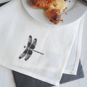 Dragonfly Napkins Set Of Four - tableware