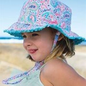 Paisley Girls Sun Hat - hats, scarves & gloves