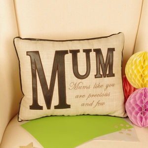 Gift For Mum Cushion - bedroom