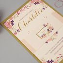 'Love In Bloom' Wedding Invitation Set