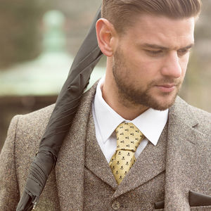 Men's Pure Silk Tie - fashion sale