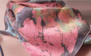 Ionic Age Silk Printed Scarf