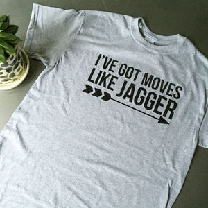 I've Got Moves Like Jagger Men's Tee - Mens T-shirts & vests