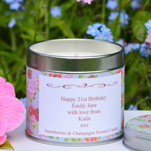 Personalised 'Birthday' Candle