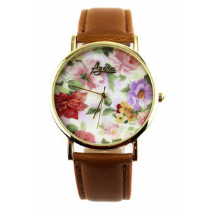 Floral Watch - men's jewellery