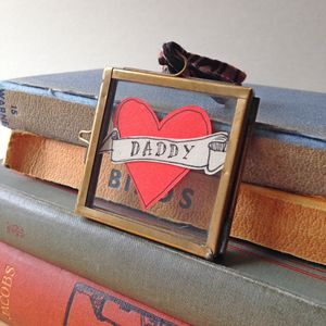 Father's Day Dad Paper Heart