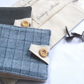 cufflink wallet by wee treasures available at notonthehighstreet