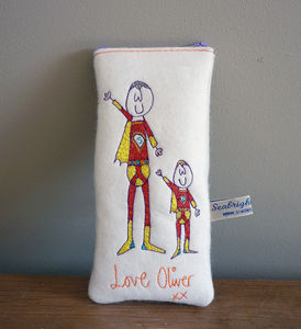 Super Grandad Glasses Case