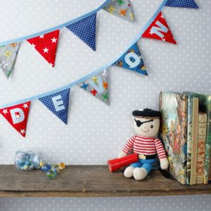 Personalised Pirate Bunting