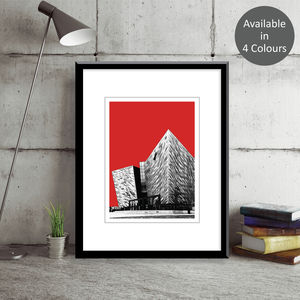 Titanic Centre Belfast Art Print - contemporary art