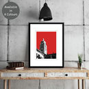 Oxo Tower London Limited Edition Print