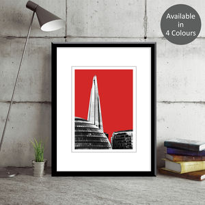 The Shard London Art Print - architecture & buildings