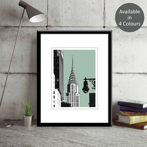 Chrysler Building New York Art Print - contemporary art
