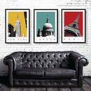 Travel Art Prints Set Of Three