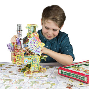 Magnificent Flying Machine Moving Model Kit - gifts for children