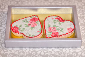 Rose Cookies - wedding favours