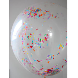 Jumbo Confetti Balloon - room decorations