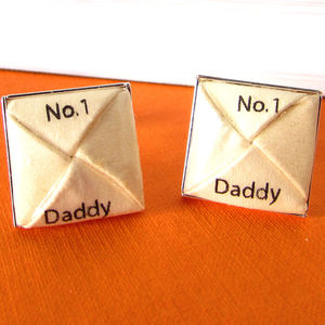 Number One Daddy Cufflinks - mens