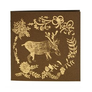 Donner Reindeer Card - cards & wrap