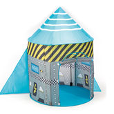 Rocket Ship Pop Up Play Tent - baby & child