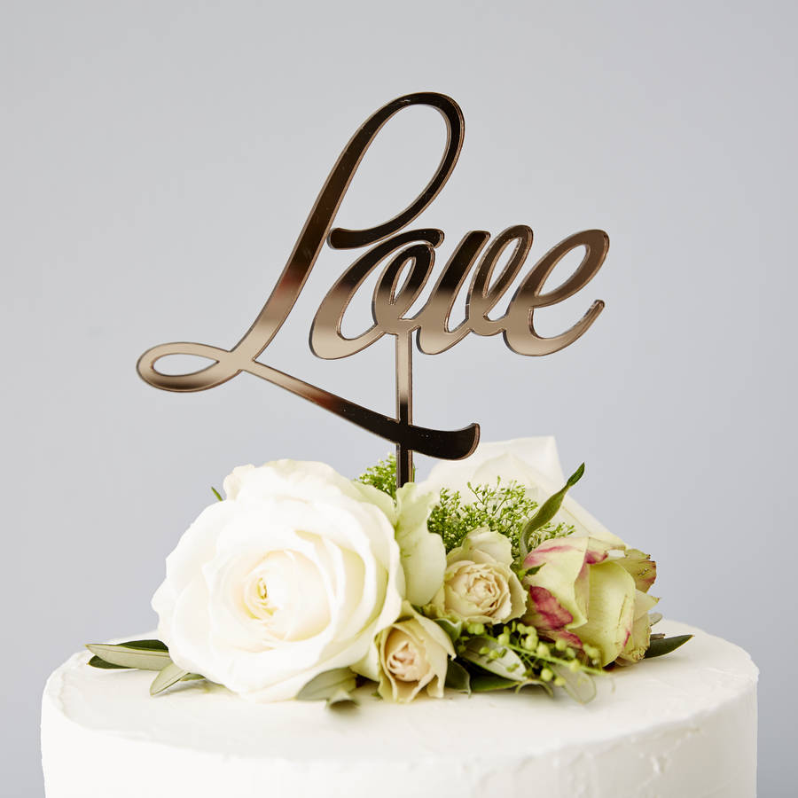 love wedding cake images wedding cake topper by 16956