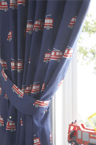 Fire Engine Curtains