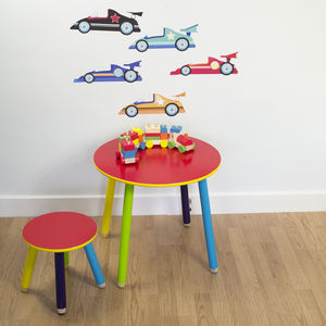 Racing Cars Wall Stickers - home sale