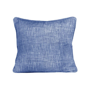 Weave, Ink Blue Cushion - living room