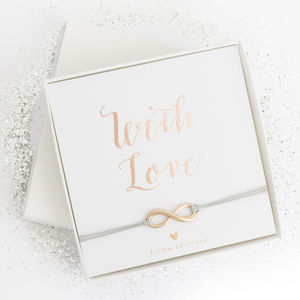 Luana Infinite Friendship Luxury Gift Card Bracelet - palentine's gifts