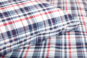 Highland Check Cot Bed Duvet Set