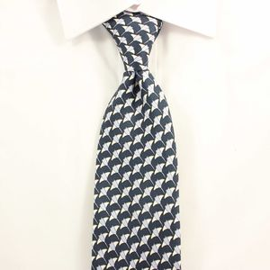 Men's Manta Ray Handmade Silk Tie