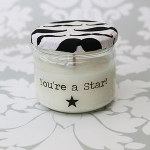 'You're a Star' Soy Candle