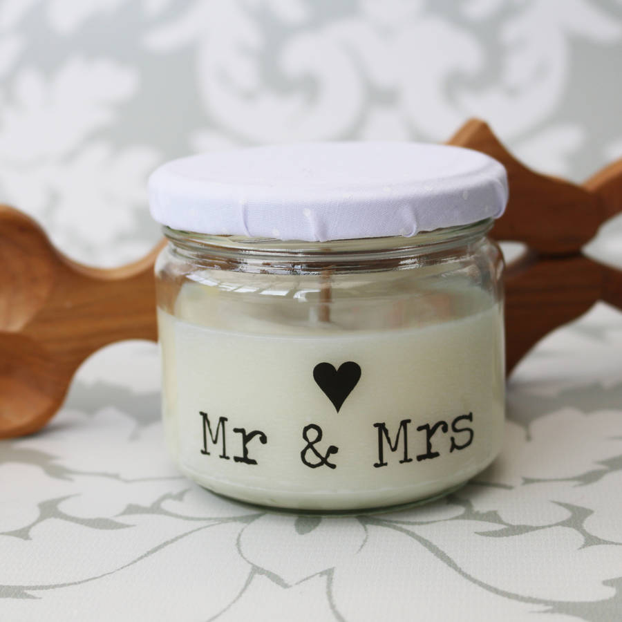 Wedding Candle Mr And Mrs / Mr And Mr / Mrs And Mrs