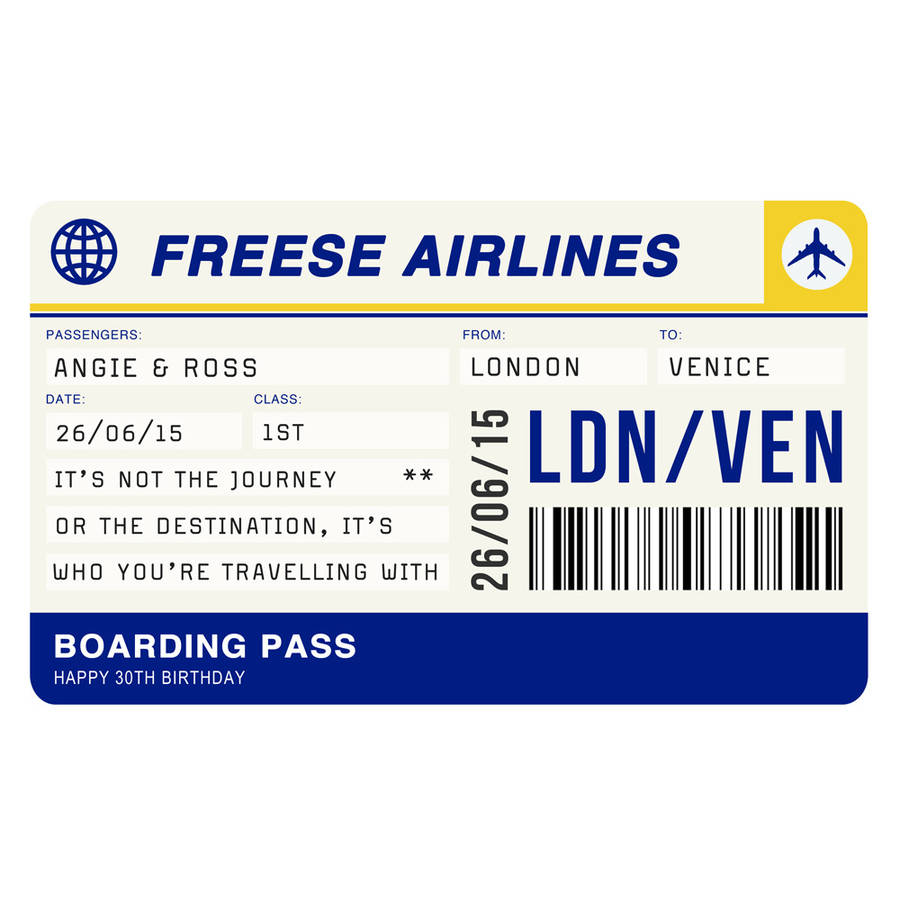 Printable fake airline tickets airline free proposal letter printable fake airline tickets loan contracts templates original personalised boarding pass print printable fake airline ticketshtml pronofoot35fo Image collections