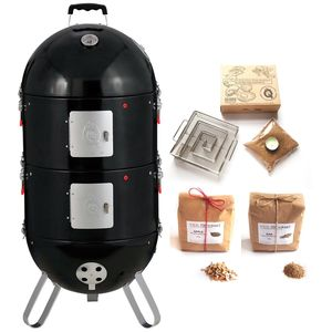 Pro Q Frontier Elite Hot And Cold Smoker Set - gifts for him