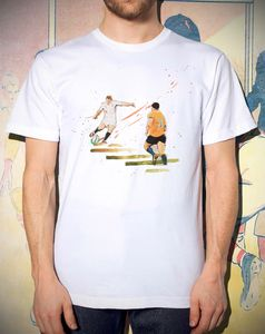 'Dropkick' : England Rugby T Shirt - Rugby World cup