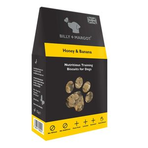 Honey And Banana Training Biscuits - food, feeding & treats