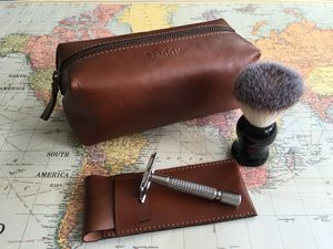 Shaving Kit Bag And Razor Cover