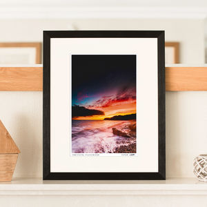 Twilight Sunset Print - nature & landscape