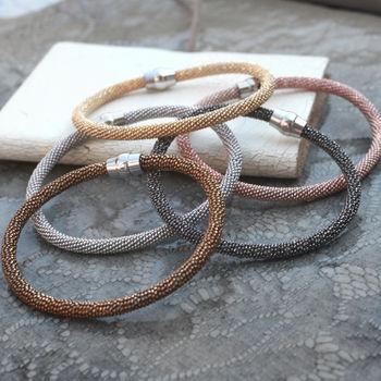 Precious Metal Luxury Friendship Bracelet