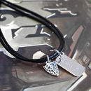 Boy's Personalised Sterling Silver Arrowhead Necklace