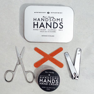 Handsome Hands Manicure Grooming Kit - grooming gift sets
